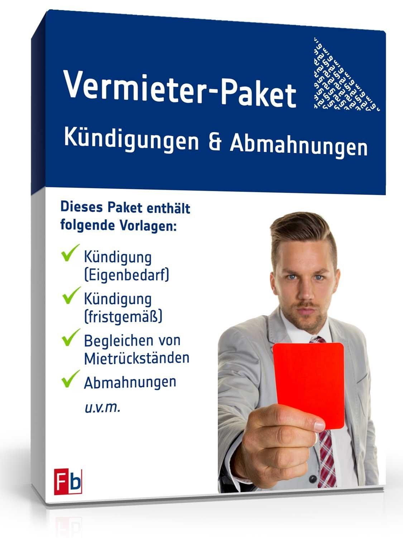 Vermieter-Paket Kündigung & Abmahnung
